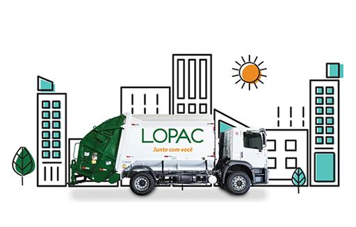 Compactador de lixo - Lopac Junto com você!